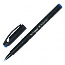 Ручка-роллер SCHNEIDER 'Topball 845', СИНЯЯ, корпус черный, узел 0,5 мм, линия письма 0,3 мм, 184503