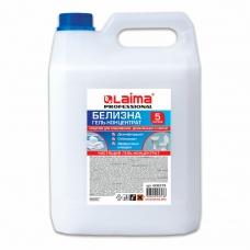 Средство для отбеливания, дезинфекции и уборки 5 л БЕЛИЗНА-ГЕЛЬ, LAIMA PROFESSIONAL, 606379