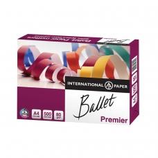 Бумага офисная А4, класс 'A', BALLET PREMIER, 80 г/м2, 500 л., ColorLok, International Paper, белизна 161% CIE
