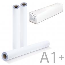 Рулон для плоттера, 610 мм х 45 м х втулка 50,8 мм, 90 г/м2, белизна CIE146%, BRAUBERG, 110451