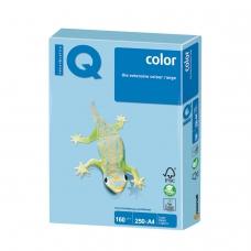 Бумага IQ color, А4, 160 г/м2, 250 л., пастель, голубой лед, OBL70