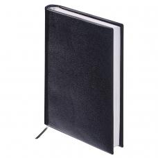 Ежедневник BRAUBERG недатированный, А6, 100х150 мм, 'Select', под зернистую кожу, 160 л., черный, 123480