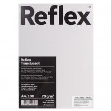 Калька REFLEX А4, 70 г/м, 100 листов, белая, R17118