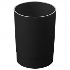 Подставка-органайзер СТАММ стакан для ручек, 70х70х90 мм, черный, ОФ777