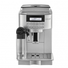 Кофемашина DELONGHI ECAM 22.360.S, 1450 Вт, объем 1,8 л, емкость для зерен 250 г, автокапучинатор, серебристая