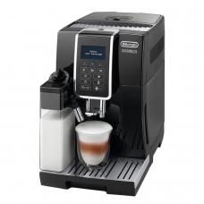 Кофемашина DELONGHI ECAM 350.55.B, 1450 Вт, объем 1,8 л, емкость для зерен 300 г, автоматический капучинатор, черная, ECAM350.55.B