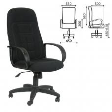 Кресло офисное 'Универсал', СН 727, ткань, черное, 1081743