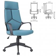 Кресло офисное BRABIX 'Prime EX-515', ткань, голубое, 531568