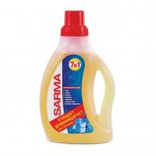Средство для мытья пола 750 мл, SARMA Сарма 'Лимон', антибактериальное, концентрат, 9088