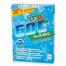 Средство для отбеливания и чистки тканей 600 г, БОС плюс 'Maximum', порошок