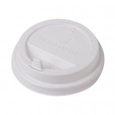 Одноразовая крышка д/стакана диаметр d-90, КОМПЛЕКТ 100 шт., ПС, ХУХТАМАКИ SP16, DW12