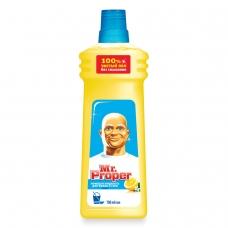 Средство для мытья пола и стен 750 мл, MR.PROPER Мистер Пропер 'Лимон'