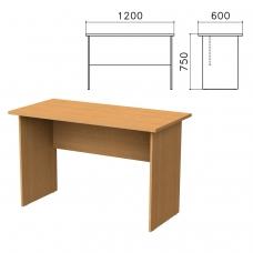 Стол письменный 'Монолит', 1200х600х750 мм, цвет бук бавария, СМ21.1